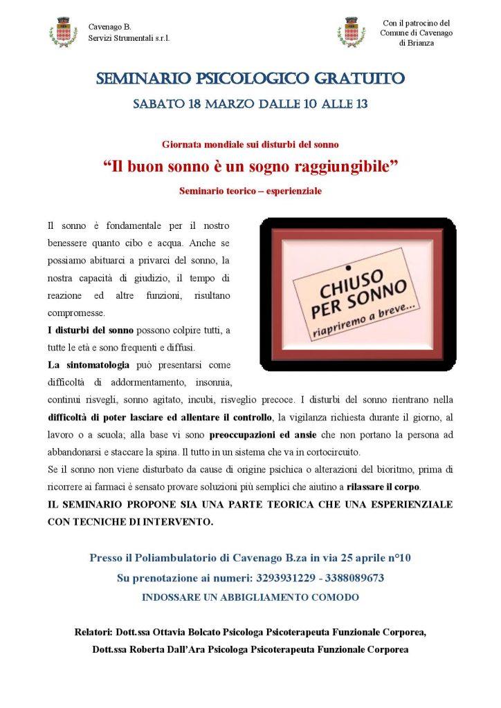 VOLANTINO SEMINARIO SONNO GRATUITO-page-001